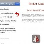 6. Send Email Enquiry - Click to Enlarge