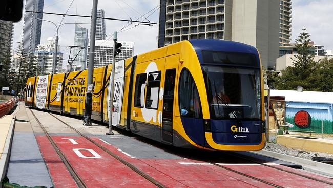 Gold Coast light rail clarification
