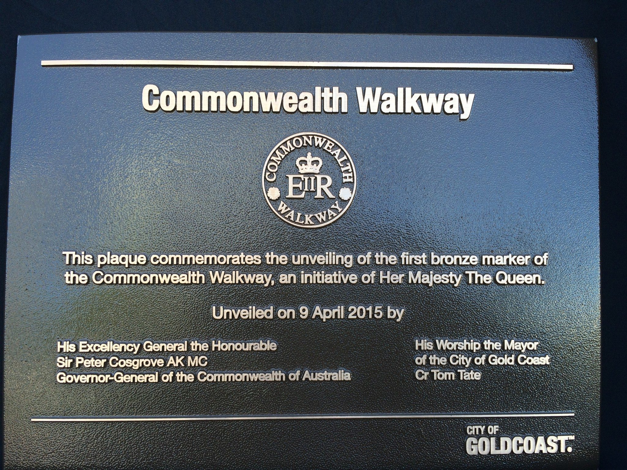 Commonwealth Walkway Launch Gold Coast