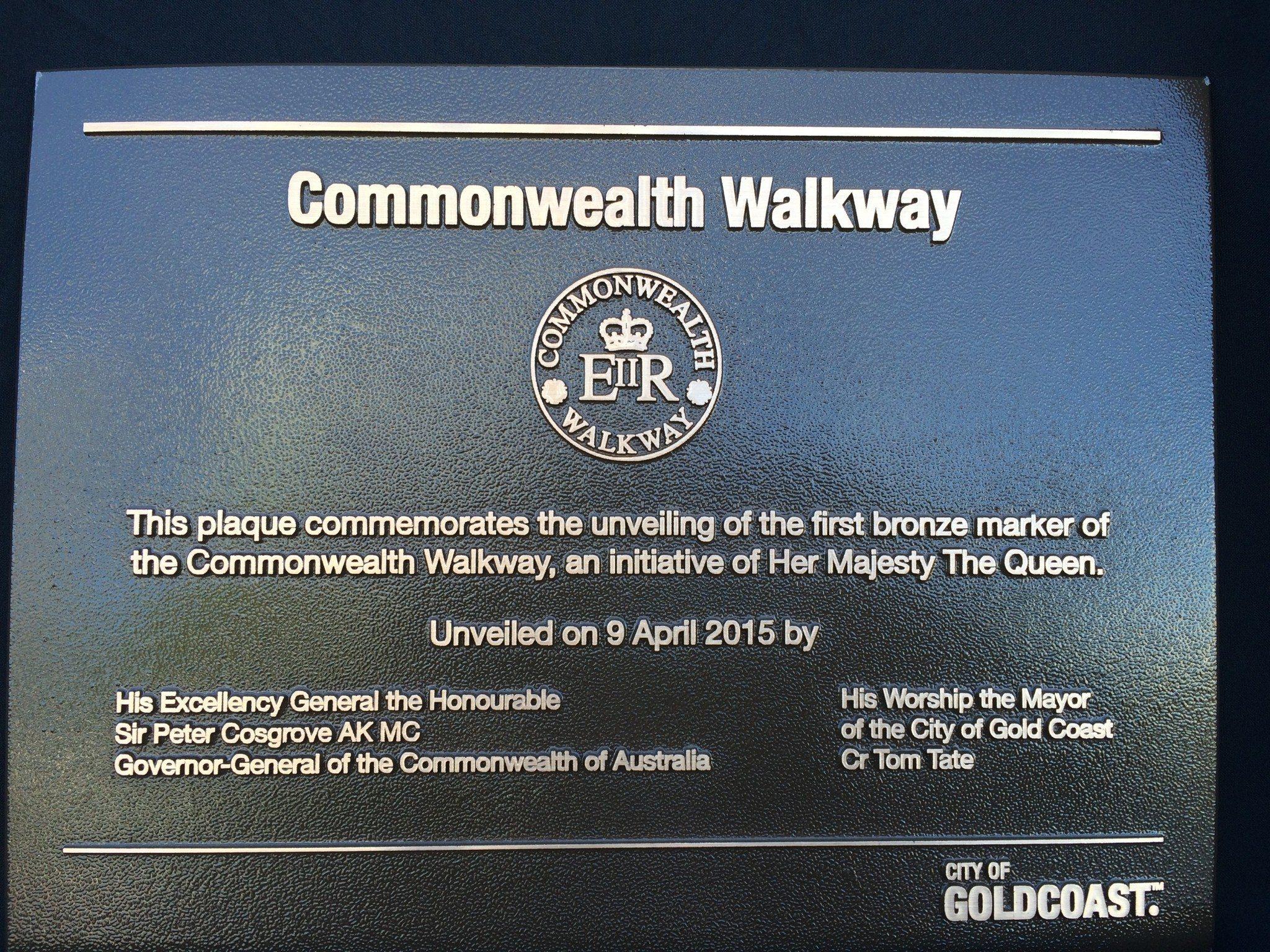 Commonwealth Walkway Launch Gold Coast
