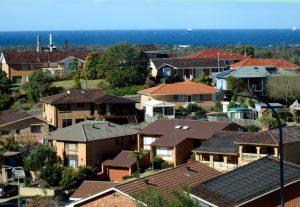 Classic suburban houses in Queensland