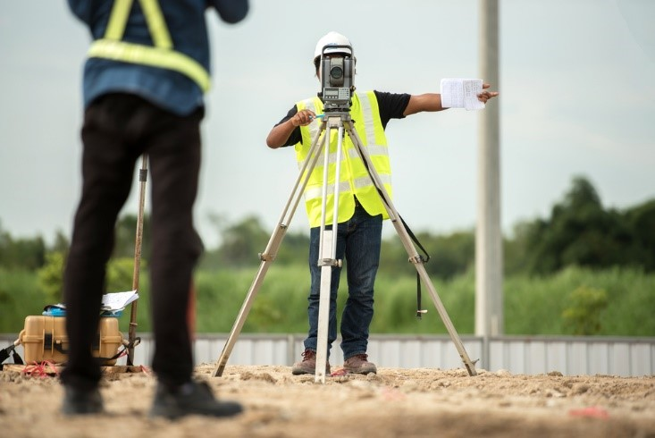 The Equipment Used in Land Surveying